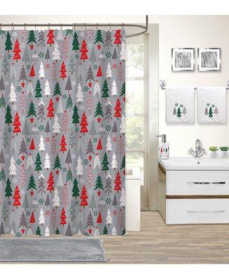 idea nuova holiday tree 17 pc bath set
