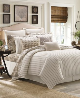 sandy coast stripe bedding collection