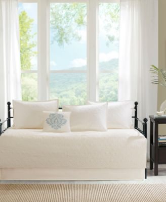 quebec 6 piece daybed bedding set