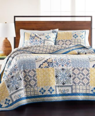 la dolce vita patchwork twin quilt created for macy s