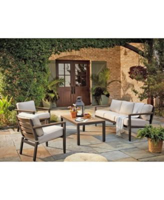 stockholm outdoor seating collection with sunbrella cushions created for macy s