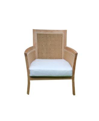 salvador teak outdoor patio lounge chair
