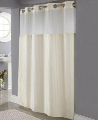 classic herringbone 3 in 1 shower curtain
