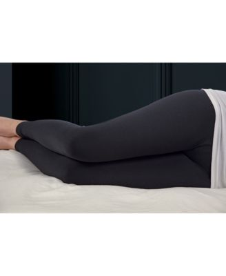 calming comfort charcoal infused cooling knee pillow