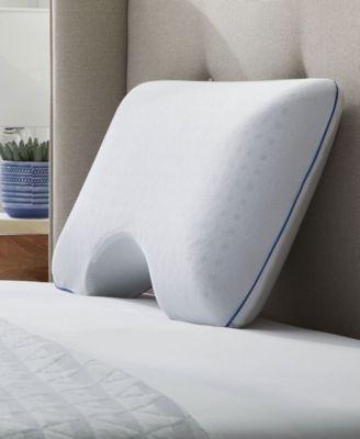 dr oz good life say goodnight side sleeper memory foam pillow standard queen reviews pillows bed bath macy s