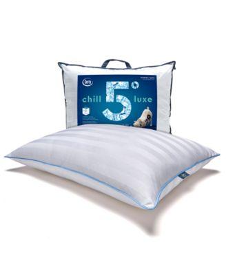 chill luxe standard queen pillow