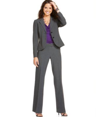 Calvin Klein Suit, Two Button Jacket & Pants