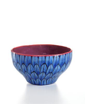 Heart of Haiti Bowl, Blue Ceremonial
