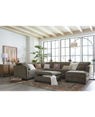 furniture elliot fabric sectional