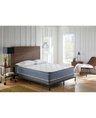 american bedding 12 hybrid gel memory foam pillow top and spring plush mattress twin