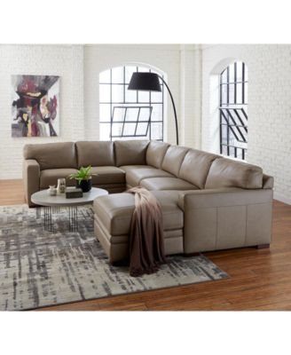 avenell leather sectional and sofa collection created for macy s