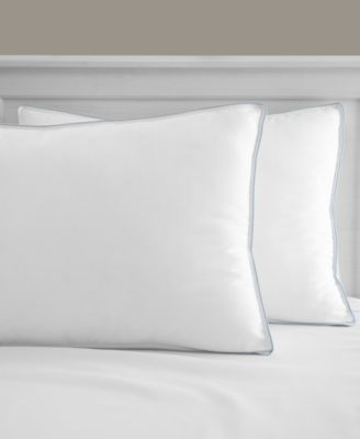 cool fusion firm density standard bed pillow with cooling gel beads created for macy s
