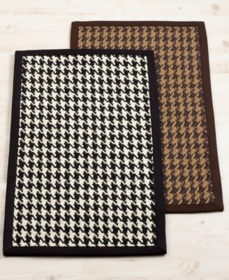 Lauren by Ralph Lauren Rugs, Houndstooth Accent Rug