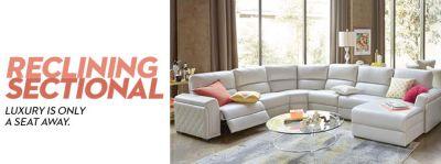 tan beige reclining sectional macy s