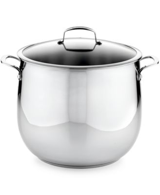 Belgique Stainless Steel 20 Qt Stockpot Created For Macy