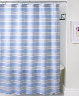 Martha Stewart Collection Norfolk Shower Curtain Shower Curtains Bed Amp Bath Macys