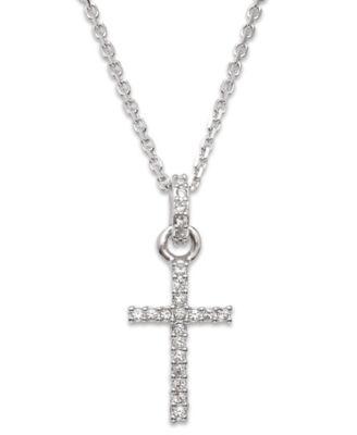 Swarovski Necklace Crystal Cross Pendant Jewelry