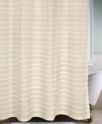 Park B Smith Retro Stripe Shower Curtain Shower