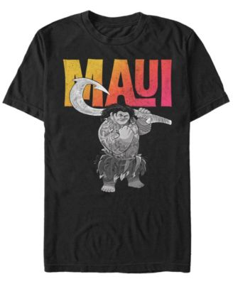 Disney Cotton Moana Hei Hei And Pua T Shirt In Black For Men Lyst