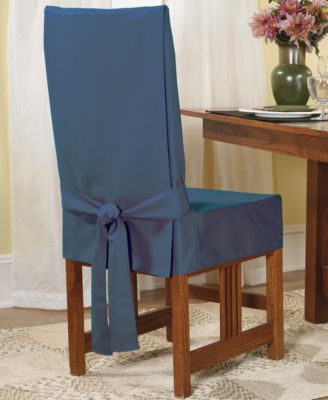 Sure Fit Short Dining Room Chair Slipcover Slipcovers