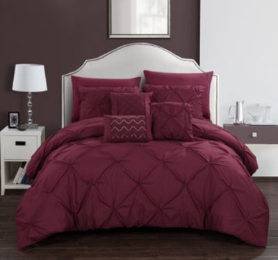 burgundy bedding macy s