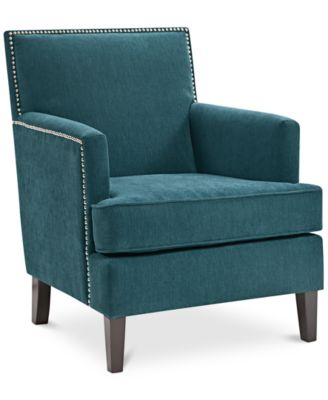 Kendall Fabric Accent Chair Quick Ship Furniture Macys