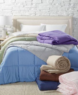 down comforters down alternative macy s