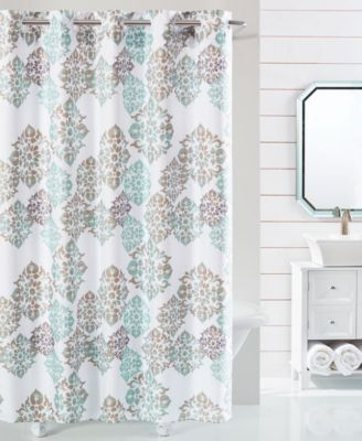 hookless bathroom rules shower curtain