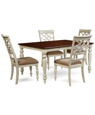 Windward 5 Pc Dining Set Dining Table Amp 4 Side Chairs Furniture Macys