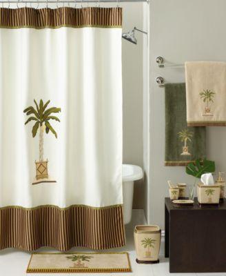 CLOSEOUT Avanti Banana Palm Bath Collection Bathroom Accessories Bed Amp Bath Macys