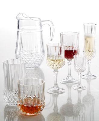Longchamp Cristal DArques Glassware Collection