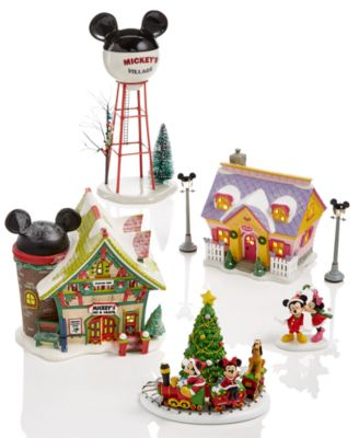 Department 56 Mickey S Christmas Village Collection