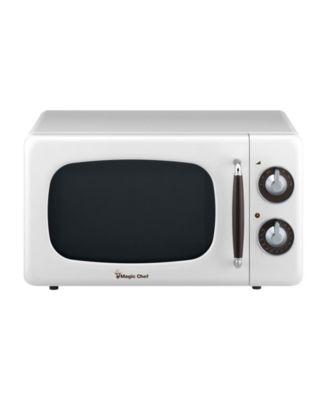 white microwaves rotisseries