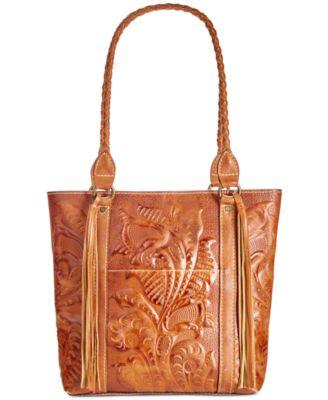 Patricia Nash Burnished Tooled Rena Tote Handbags