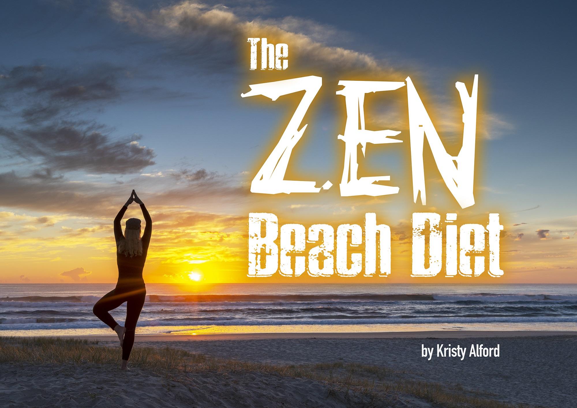 Health books, Zen Beach Diet,