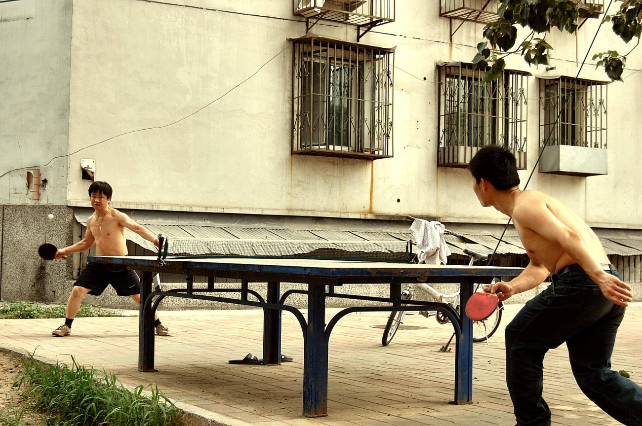 table tennis fitness