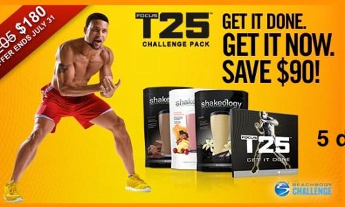 T25 workout program | Shaun T