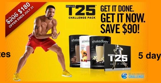 T25 workout program   Shaun T