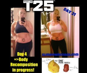 Focus T25 third week review