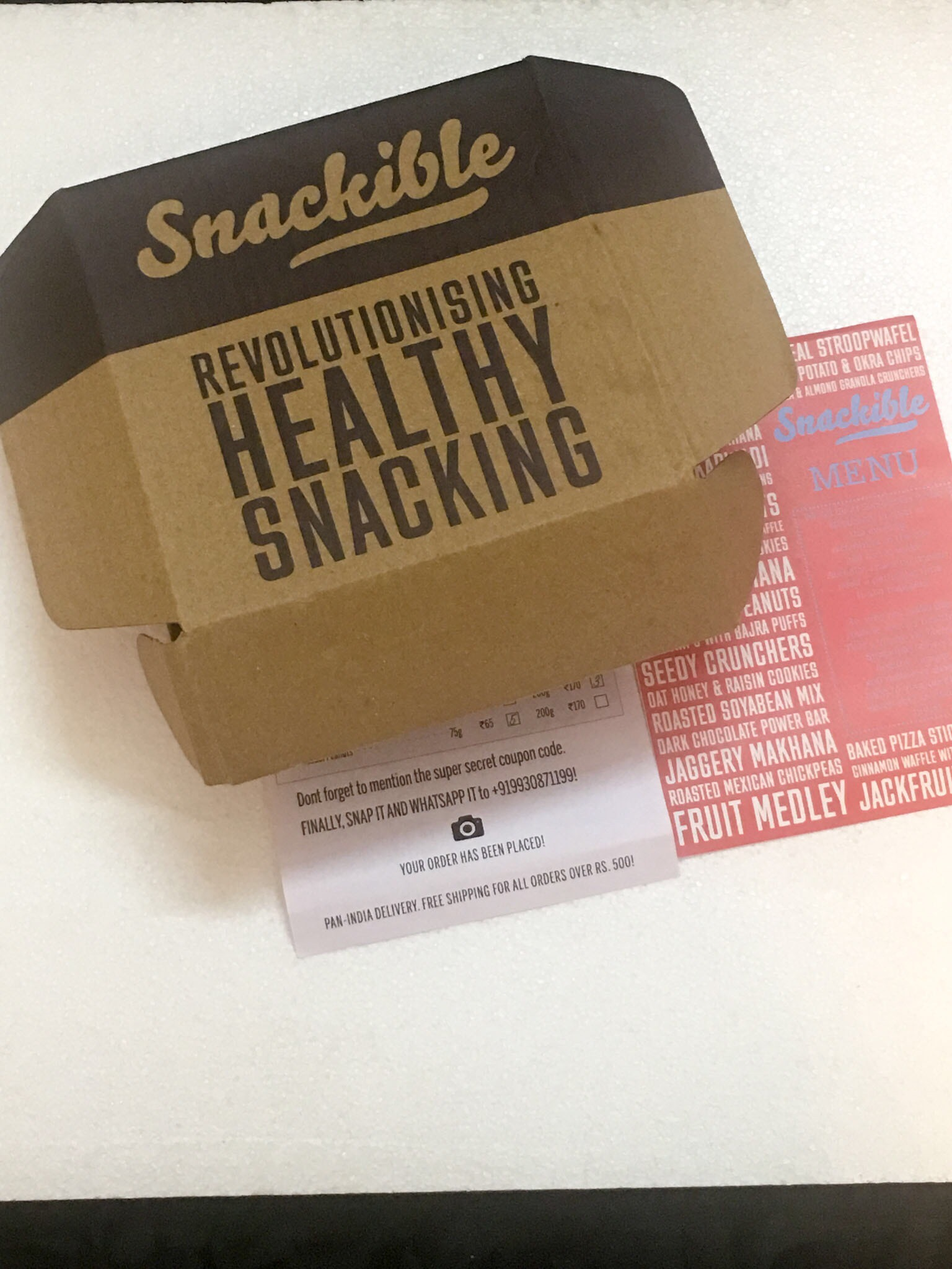 Snackible Snacks (Giveaway)
