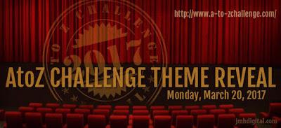 AtoZ Challenge Theme Reveal