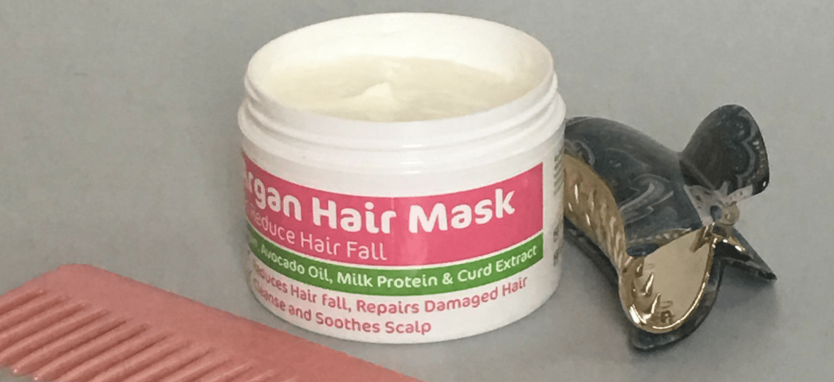 Mamaearth Argan Hair Mask Review