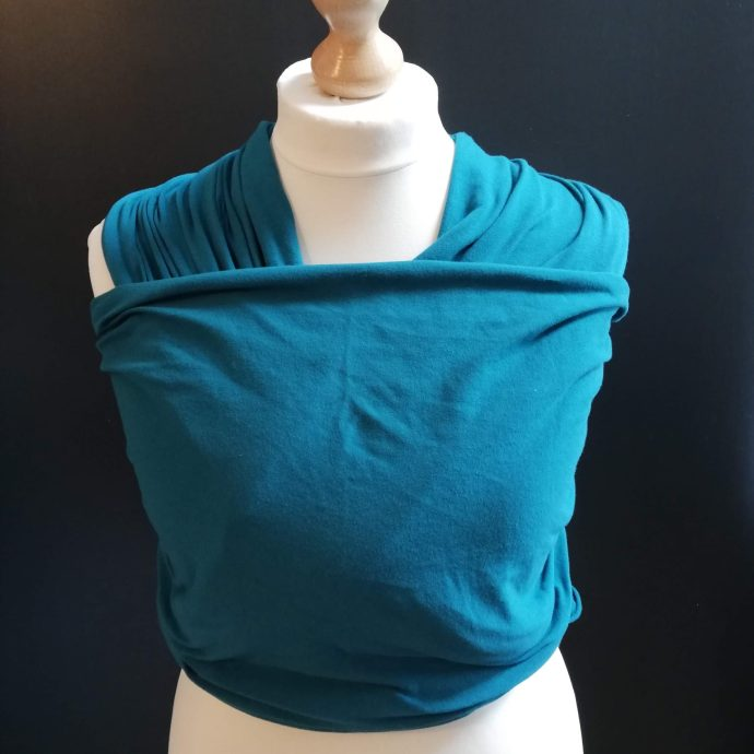 teal stretchy wrap