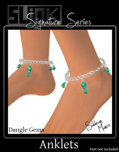 JP Dangle Gems Anklets ad