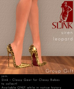 Siren Leopard Group Gift