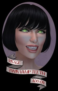 Teeth Ads Twin Vamp