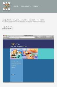 pacificmonarchltd (Websites produced by Holger)