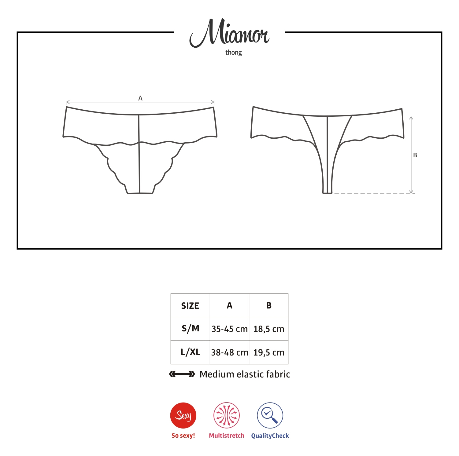 eng miamor thong - OBSESSIVE Miamor lace thong