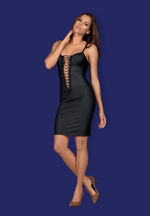 "zdj glowne obsessive redella dress - OBSESSIVE RedellA ""S  Black dress- super viliojantis vaizdas!"
