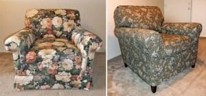 Chair Slipcover Makeover Kalmazoo